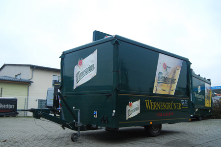 Ausschankwagen 4-Seitig