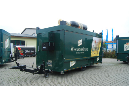 Ausschankwagen 8-Eck